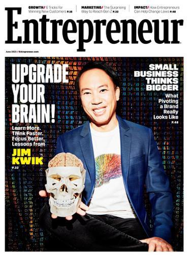 Entrepreneur Magazine June 1st, 2021 Issue Cover