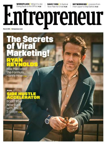 Entrepreneur Magazine March 1st, 2021 Issue Cover