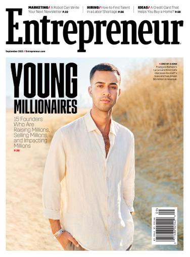 Entrepreneur Magazine September 1st, 2021 Issue Cover