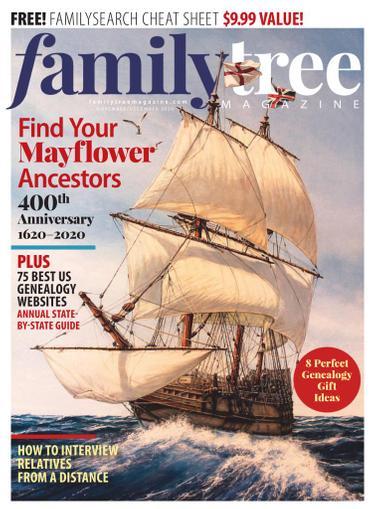 Family Tree Magazine November 1st, 2020 Issue Cover