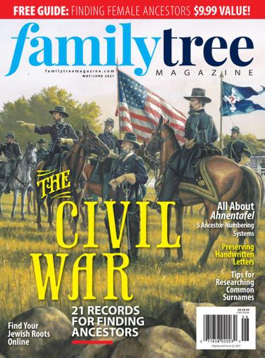 Family Tree Magazine May 1st, 2021 Issue Cover