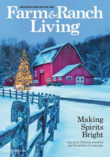 Farm & Ranch Living Magazine December 1st, 2020 Issue Cover