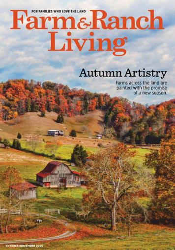 Farm & Ranch Living Magazine October 1st, 2020 Issue Cover