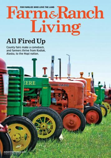 Farm & Ranch Living Magazine August 1st, 2021 Issue Cover