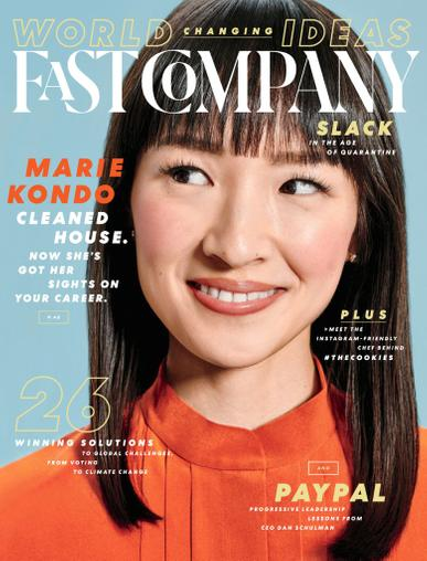 Fast Company Magazine May 1st, 2020 Issue Cover