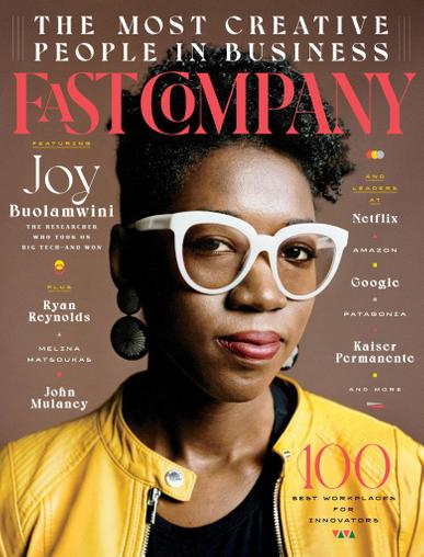 Fast Company Magazine September 1st, 2020 Issue Cover