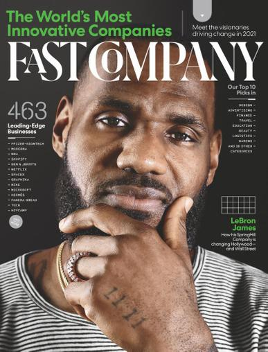 Fast Company Magazine March 1st, 2021 Issue Cover