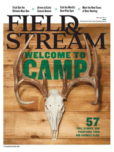 Field & Stream Magazine August 26th, 2020 Issue Cover