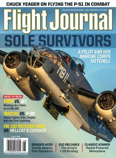 Flight Journal Magazine August 1st, 2020 Issue Cover