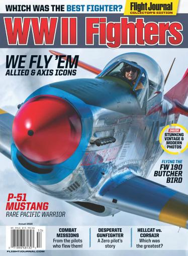 Flight Journal Magazine November 10th, 2020 Issue Cover