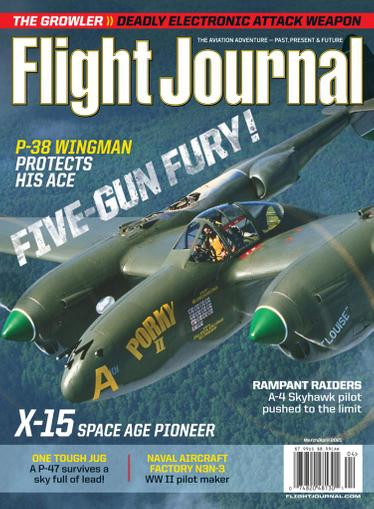 Flight Journal Magazine March 1st, 2021 Issue Cover