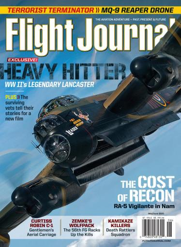 Flight Journal Magazine May 1st, 2021 Issue Cover