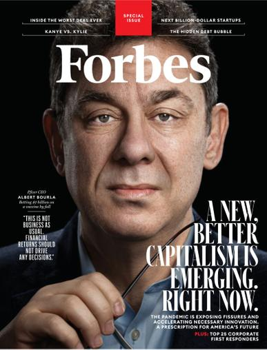 Forbes Magazine June 1st, 2020 Issue Cover