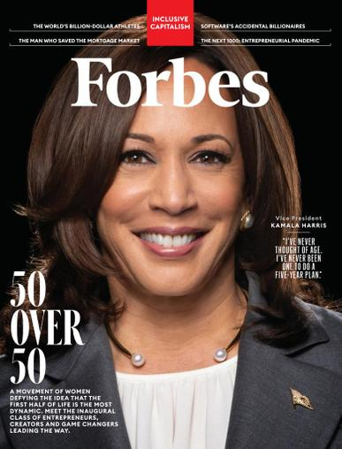 Forbes Magazine June 1st, 2021 Issue Cover