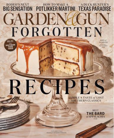 Garden & Gun Magazine August 1st, 2020 Issue Cover