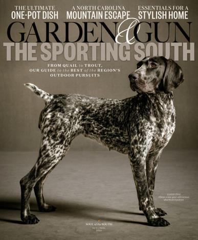 Garden & Gun Magazine October 1st, 2020 Issue Cover