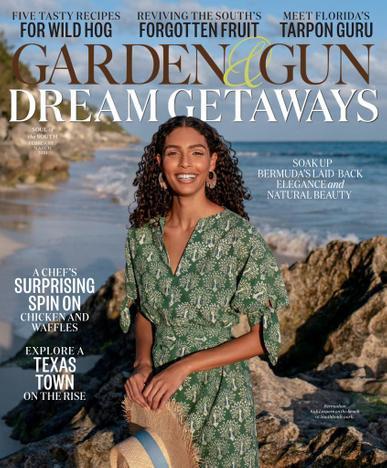 Garden & Gun Magazine February 1st, 2021 Issue Cover