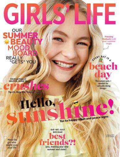 Girls Life Magazine June 1st, 2021 Issue Cover