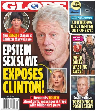 Globe Magazine April 19th, 2021 Issue Cover