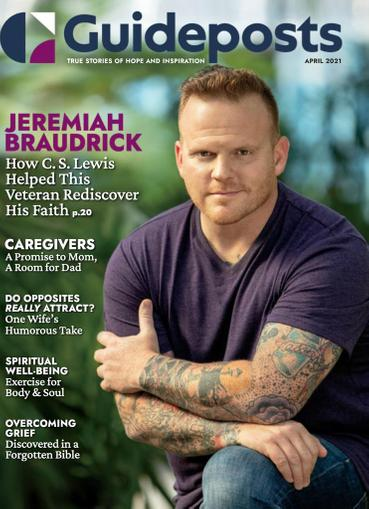 Guideposts Magazine April 1st, 2021 Issue Cover