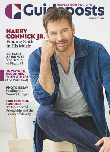 Guideposts Large Print Magazine August 1st, 2021 Issue Cover