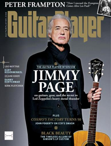 Guitar Player Magazine December 1st, 2020 Issue Cover