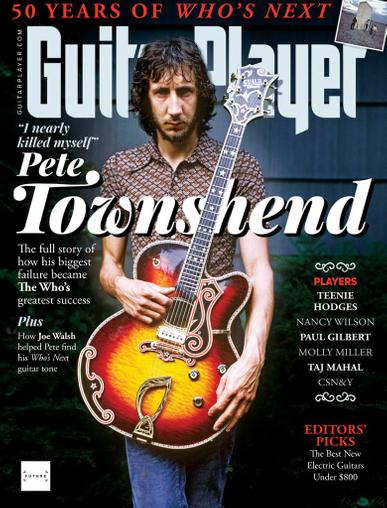 Guitar Player Magazine August 1st, 2021 Issue Cover