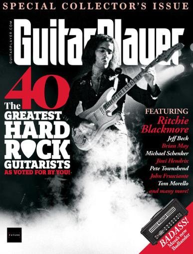 Guitar Player Magazine February 1st, 2021 Issue Cover