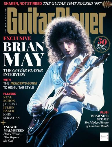 Guitar Player Magazine May 1st, 2021 Issue Cover