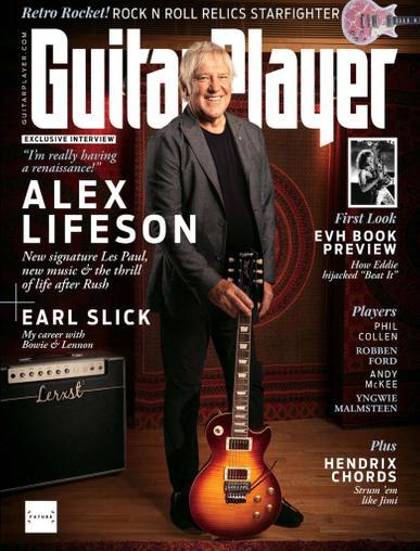 Guitar Player Magazine November 1st, 2021 Issue Cover
