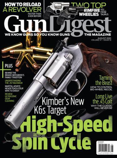 Gun Digest Magazine August 1st, 2020 Issue Cover