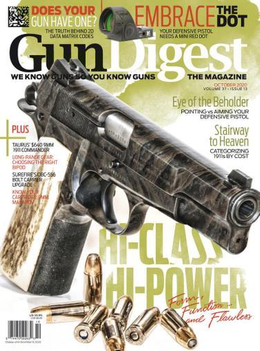 Gun Digest Magazine October 1st, 2020 Issue Cover