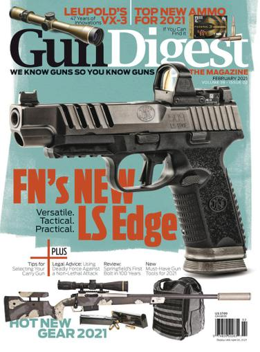 Gun Digest Magazine February 1st, 2021 Issue Cover