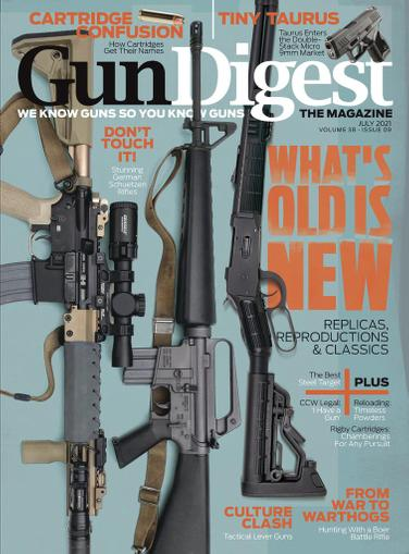 Gun Digest Magazine July 1st, 2021 Issue Cover