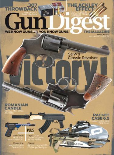 Gun Digest Magazine March 1st, 2021 Issue Cover