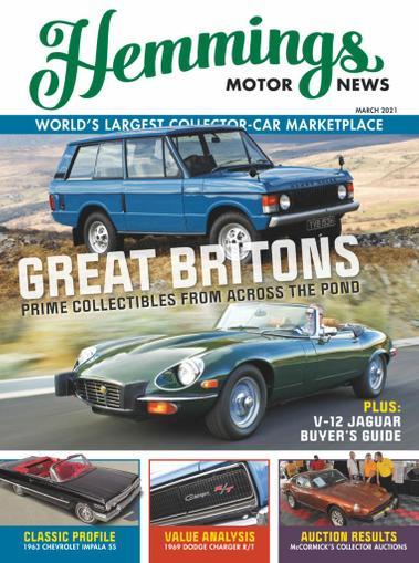 Hemmings Motor News Magazine February 15th, 2021 Issue Cover