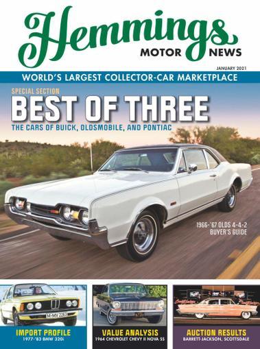 Hemmings Motor News Magazine January 1st, 2021 Issue Cover