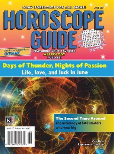 Horoscope Guide Magazine June 1st, 2021 Issue Cover