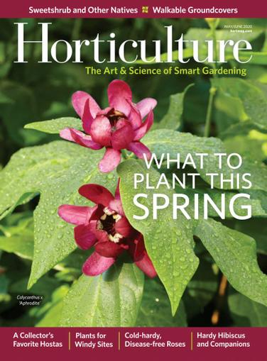 Horticulture Magazine May 1st, 2020 Issue Cover