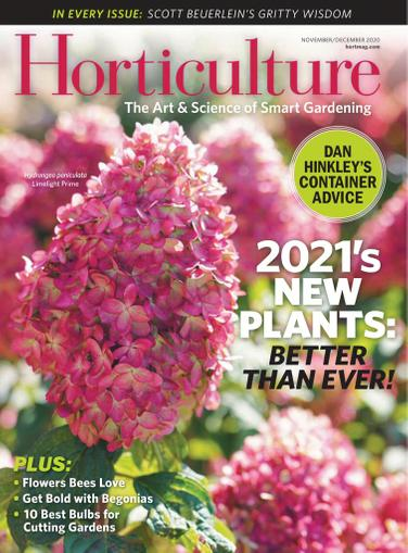 Horticulture Magazine November 1st, 2020 Issue Cover