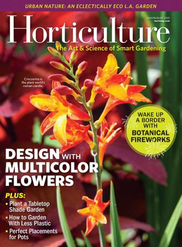 Horticulture Magazine July 1st, 2021 Issue Cover
