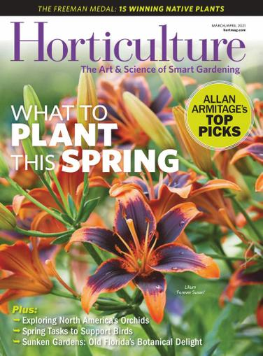 Horticulture Magazine March 1st, 2021 Issue Cover