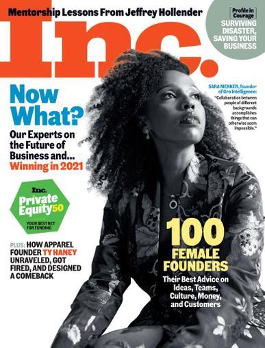INC Magazine November 1st, 2020 Issue Cover