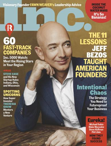 INC Magazine March 1st, 2021 Issue Cover