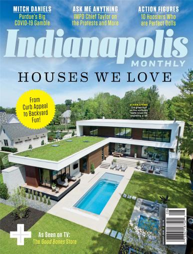 Indianapolis Monthly Magazine August 1st, 2020 Issue Cover