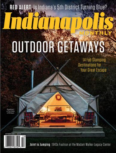 Indianapolis Monthly Magazine October 1st, 2020 Issue Cover