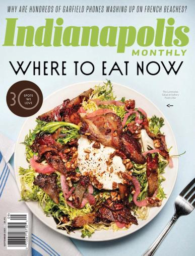 Indianapolis Monthly Magazine September 1st, 2021 Issue Cover