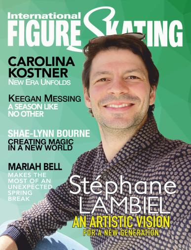 International Figure Skating Magazine August 1st, 2020 Issue Cover