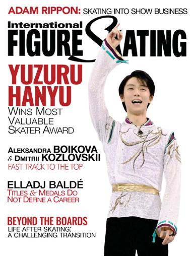 International Figure Skating Magazine October 1st, 2020 Issue Cover