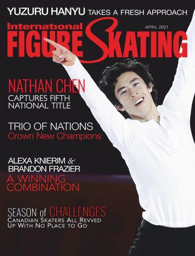 International Figure Skating Magazine April 1st, 2021 Issue Cover